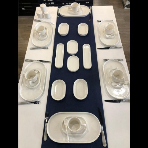 Picture of Marla Porcelain Breakfast Set of 35